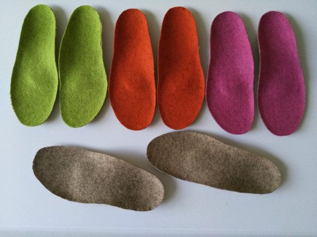 Ortho-natural insoles